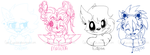 Head Shot Requests 2 by GwenCupcakes