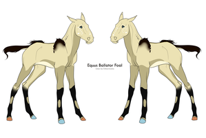 EB Foal For ComplacentFool by Inked-Owl