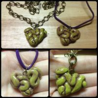 Zombie Gut Pendants by Arsenious