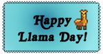 Happy Llama Day! by lag111