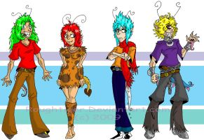 Human Neopets by Roughtiger