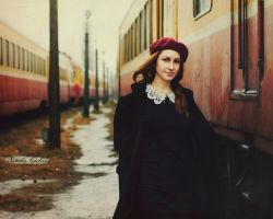 Train Station by NataliaCiobanu