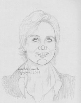 Jane Lynch WIP by withering-black-rose