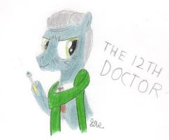 The 12th Doctor (MLP FIM) by BrogarArts