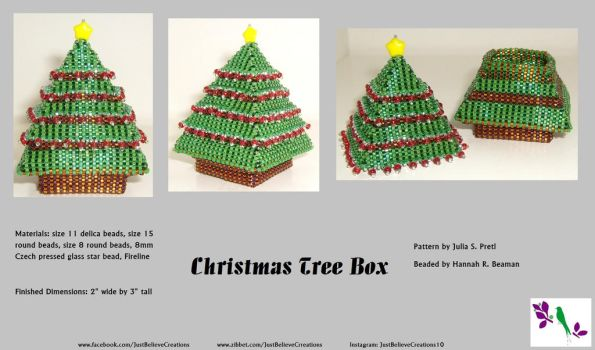 Christmas Tree Box Take 2 Complete - SOLD by JustBelieveCreations