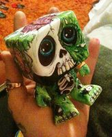 zombie toy by lilmrsfrankenstein