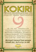 Kokiri Investigations Poster by CitizenWolfie
