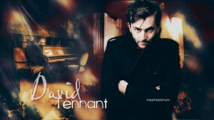 David Tennant Wallpaper 05 by HappinessIsMusic