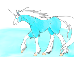 Artic Horse by WhiteWing1