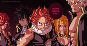 Fairy Tail 267 Rage Tails by SilverCore94