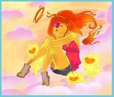 Flame Princess: Fire Angel by faycoon