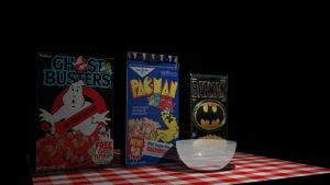 3D Work-Cereal Boxes by Urvy1A