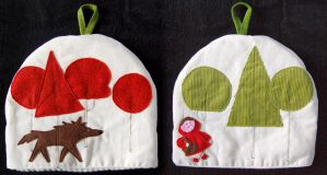 Lil Red Riding Hood Tea Cosy by elbooga