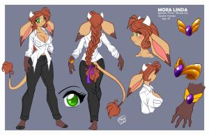 Mora refs by ChaloDillo