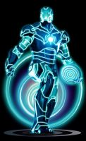 JARVIS Virtual Armor by BluePhoenix012