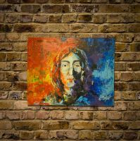 John Lennon original spray paint art by colorpeoject