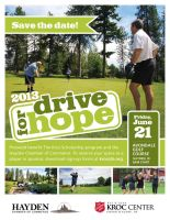 Drive For Hope Promo Sign by banjoeskimo