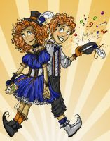 Circus Twins by RiTTa1310