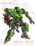 Mecha Zone: Striker 15 by Mecha-Zone