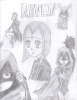 Raven Tribute by RavenTheAngelofDarkn