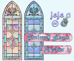 Stained glass Styles 1 by jojo-ojoj