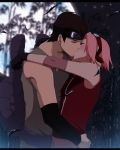Toji and Sakura: Night Kiss by annria2002