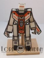 Transformer CrossStitch Robot2 by LordLibidan
