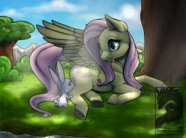 Help on a sunny day by Japandragon