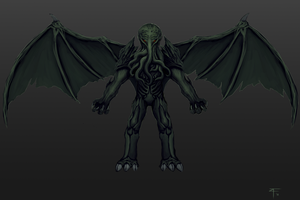 Cthulhu Character layout by Callthistragedy1