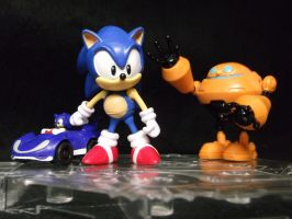 Sonic The Hedgehog, a icon of my childhood by forever-at-peace