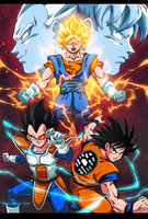 DBZ mashup by MoonFX