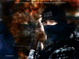 war against terror. OR Islam by abart