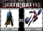 Vergil vs. Jeanne by JasonPictures