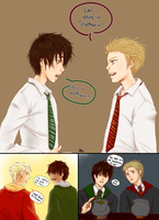 Albus and Scorpius by DuchessGeorgiana