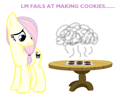Lavender Mallow Fails At Making Cookies...... by Miko-Chan10