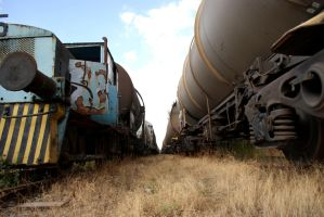Abandoned Trains and Wagons by Toun57