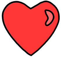 Heart Clip Art by darkslavar