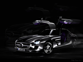 Mercedes SLS by Webby-B