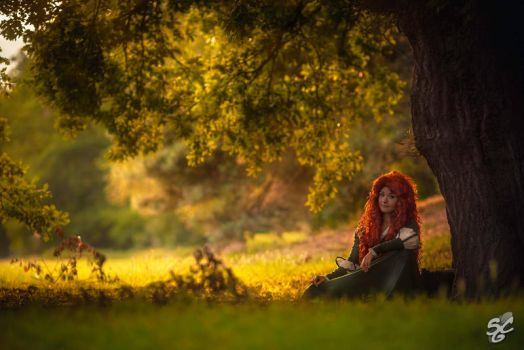 Disney: Merida I by Aigue-Marine