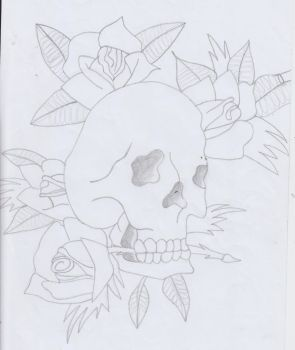e d hardy pencil drawing by OceanEyes1996