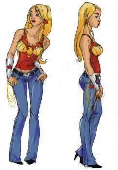 Wonder Girl Designs by greenestreet