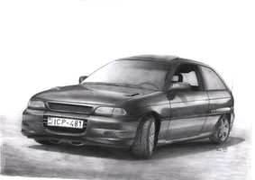Opel Astra GSI by imprzz