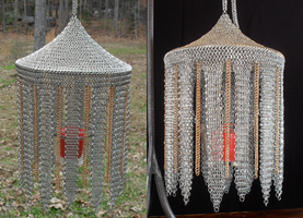 Stainless Moroccan Lantern by Tarliman