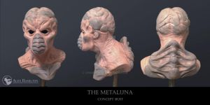 Chamil20 Metaluna Bust 2014 by chamil20