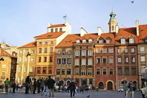 Old Town Warsaw by CitizenFresh