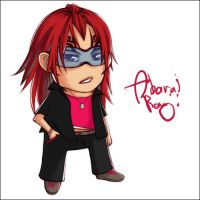 Chibi Renji of d00m - Coloured by kimiko