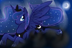 Princess Luna by PrismNight