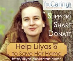 Help Lily to Save Her Home by Lilyas