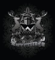 Cadwell Family Crest by Vikingjack