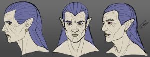 Magus - Face Concept by sPoco